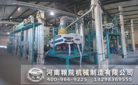 辽宁北镇100吨玉米加工设备