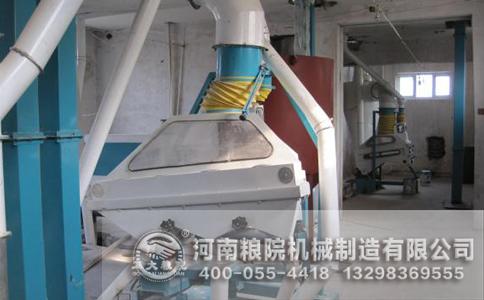 玉米加工设备电机容量变化的影响
