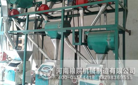 玉米加工设备质量检测工序