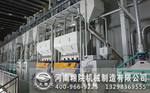 小型玉米加工机械企业生产存在很多不足